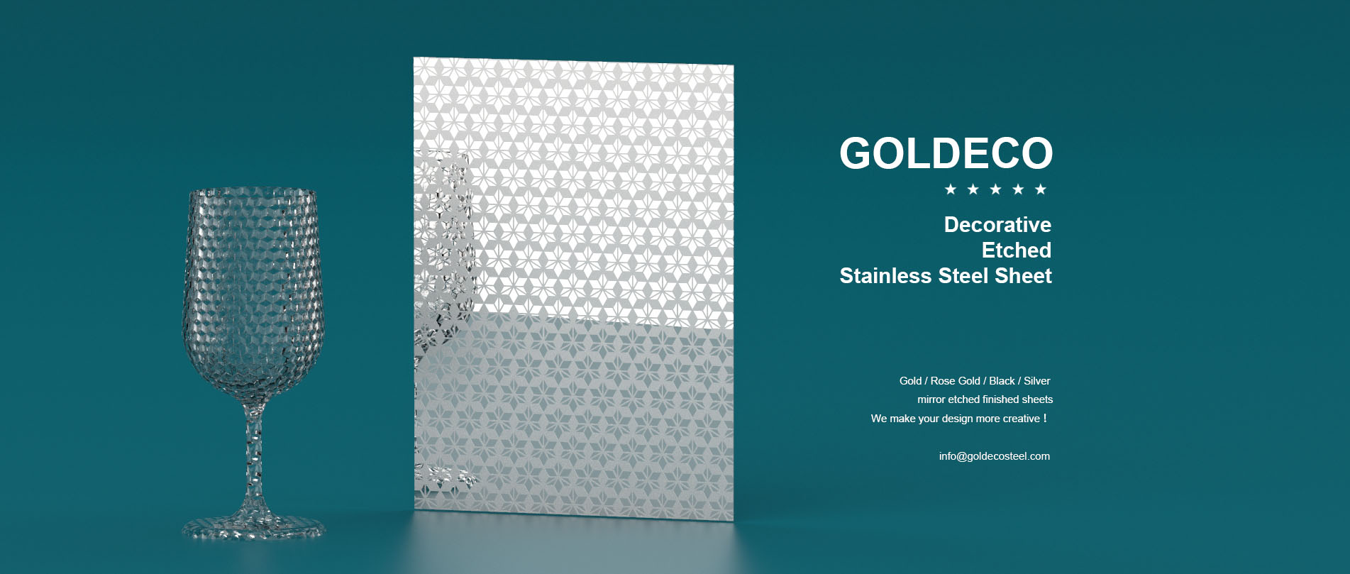 Goldeco Stainless Steel Sheet Web Banner 1-1