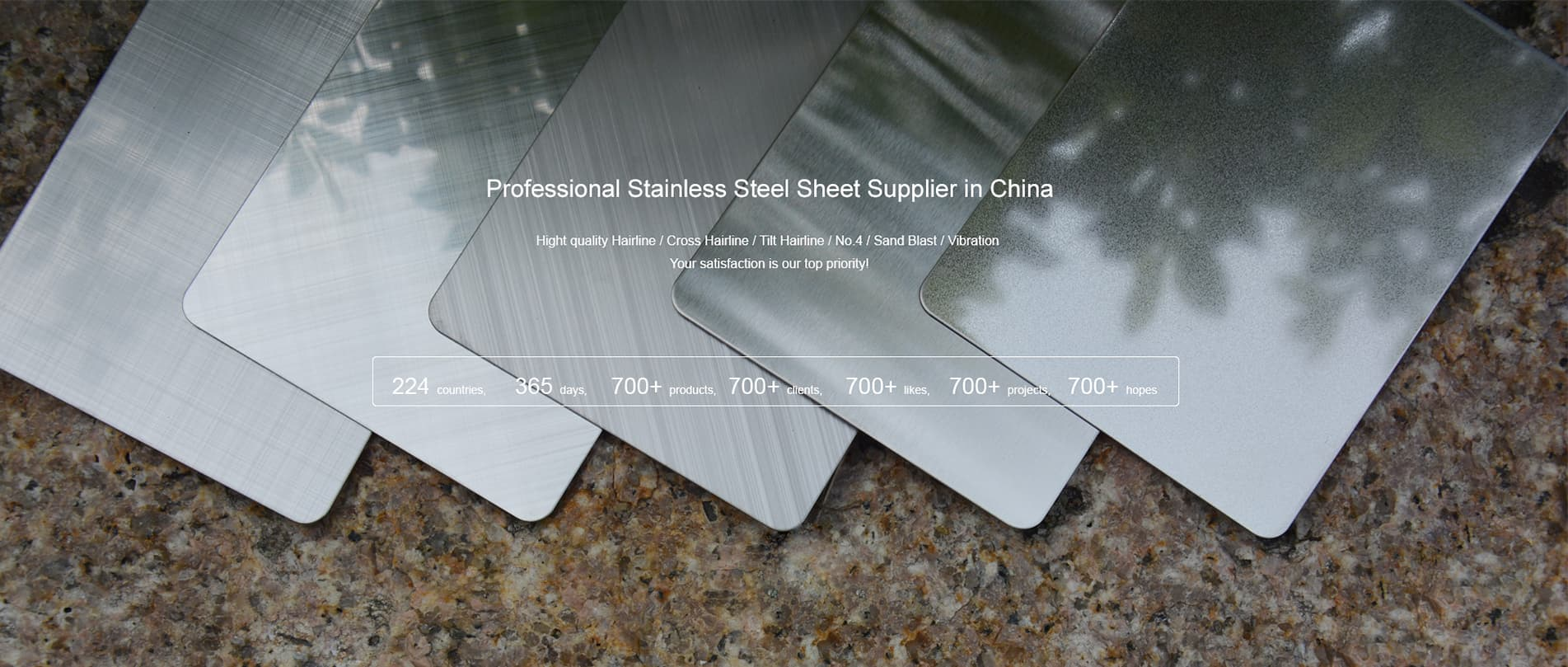 Goldeco Stainless Steel Sheet Web Banner 1-2