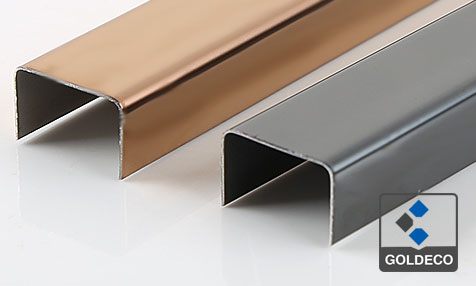 8K Mirror Stainless Steel Channel