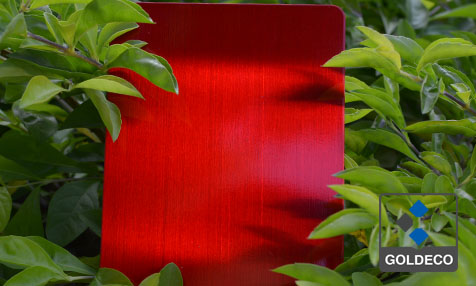 Red Color Stainless Steel Sheet