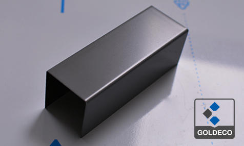Painted Matte Grey Color Stainless Steel Sheet