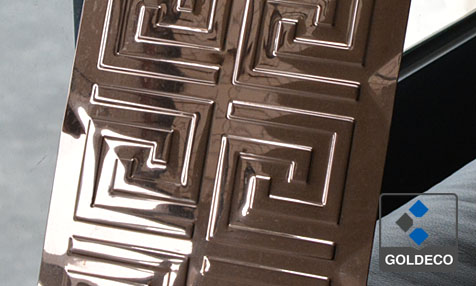 430 Stamped Stainless Steel Sheet