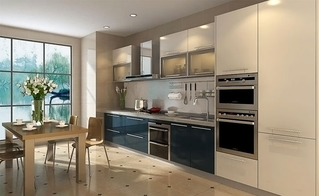 PVC Laminated SS for Home Kitchen