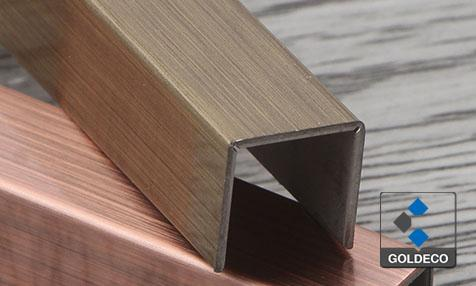 Stainless Steel Tile Trims