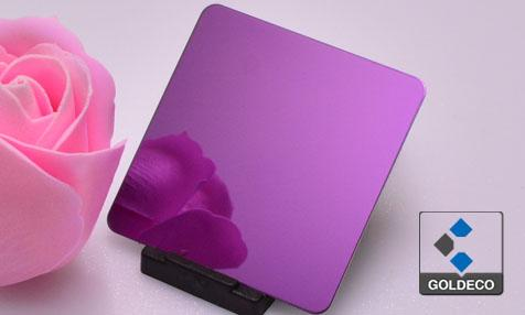 Colored Ti Pink Stainless Steel Sheet Suppliers