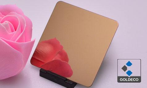 Colored Ti Rose Gold Stainless Steel Sheet Suppliers