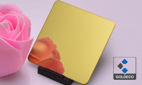 Colored Ti real Gold Stainless Steel Sheet Suppliers