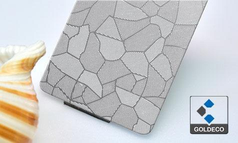 Icy Bamboo Embossed Sheet