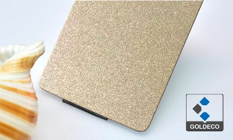 Colored Bead Blast Stainless Steel Sheet