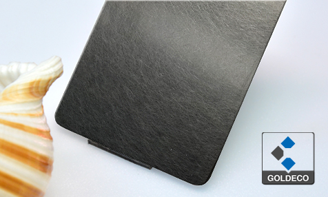 China Vibrated Stainless Steel Sheet
