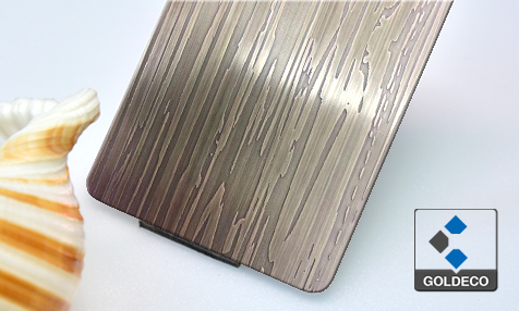 Color Etched Stainless Steel Sheet