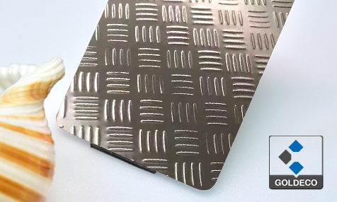 304 Checked Stainless Steel Sheet
