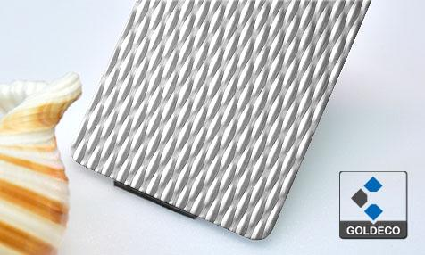 Textured Stainless Steel Sheet