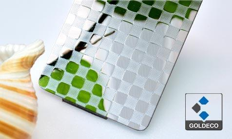 Emboss Stainless Steel Plate