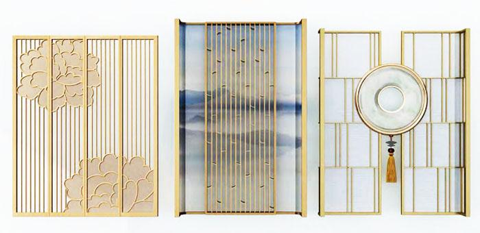 China Stainless Steel Decorative Room Divider