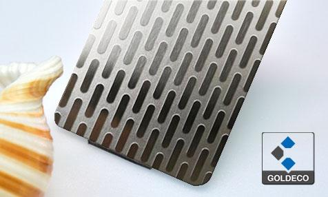 New design - Deep Etching Stainless Steel Sheet