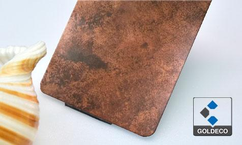 New Product - Rusted Stainless Steel Sheet