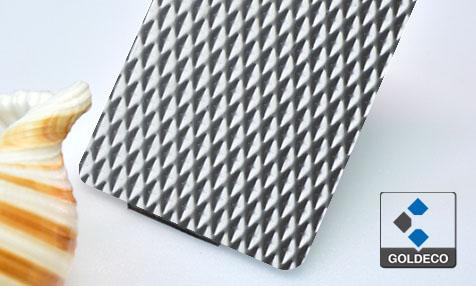 New Product - Deep textured Stainless Steel Sheet