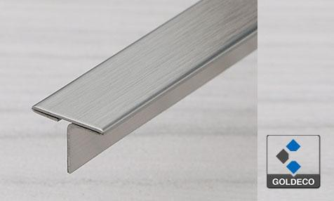 China Brushed Stainless Steel T Shape Trims