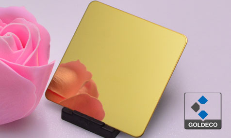 Gold Mirror Stainless Steel