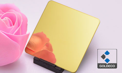 Gold Mirror Stainless Steel Sheet Factory
