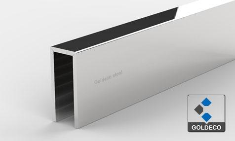 Stainless Steel U Channel for 10mm Glass