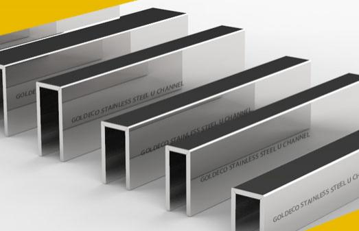 Custom Make Stainless Steel U Channel for Glass