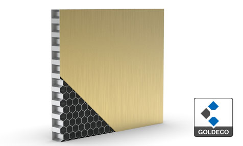 Colored Stainless Steel Honeycomb Panel