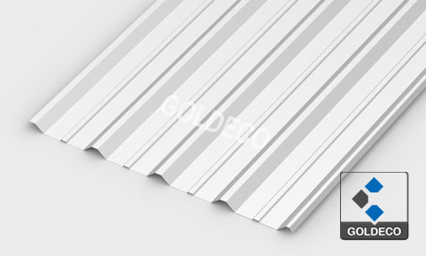 Corrugated Stainless Steel Roofing Sheet