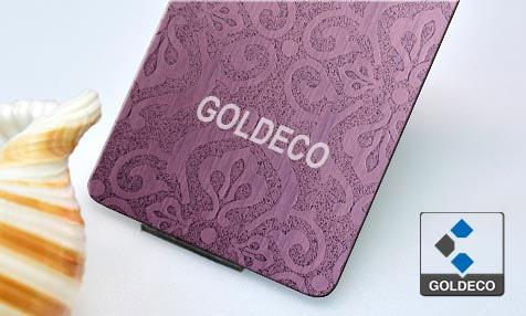Embossed Copper Stainless Steel Sheet