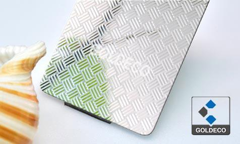 China Embossed Stainless Steel Sheet Supplier