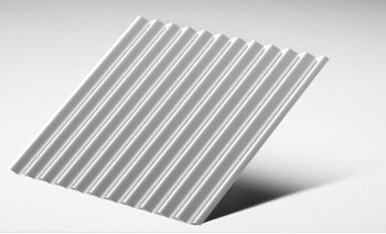 Corrugated Stainless Steel Sheet