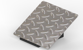 Checkered Stainless Steel Plate